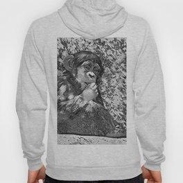 AnimalArtBW_Chimpanzee_20170605_by_JAMColorsSpecial Hoody