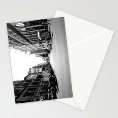 New York crosswalk Stationery Cards