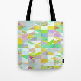 Pixel Dust Muted colors Tote Bag