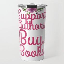 support authors Travel Mug