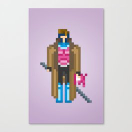 PixelWorld vol. 1 | Gambit Canvas Print
