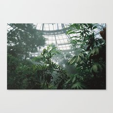 Constructed Nature Canvas Print