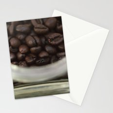 Coffee beans in glass Jar - fine art - still life - interior decoration, for bar & coffeehouse,  #1 Stationery Cards