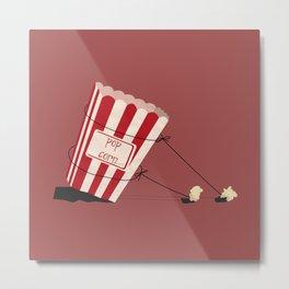 end of popcorn dictatorship Metal Print