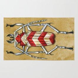 Stripped Psalidognathus Beetle Rug