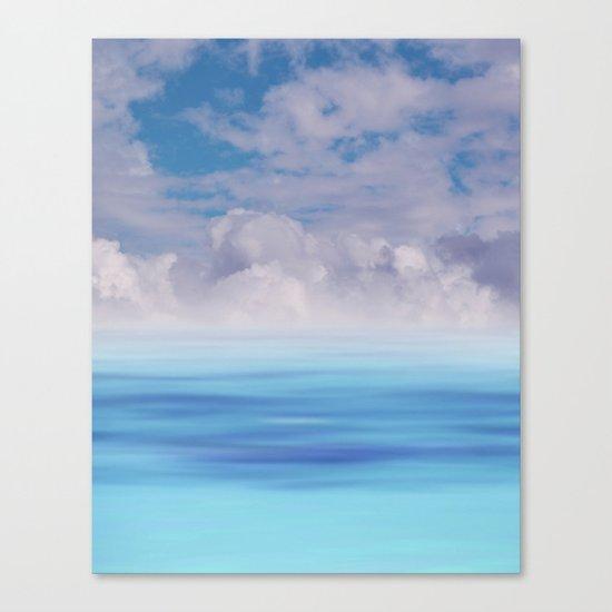 The Sea is Calm Canvas Print