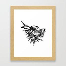 Bird Brain Framed Art Print
