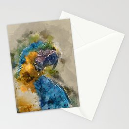 Parrot Colours Stationery Cards
