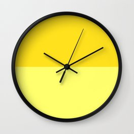 Banana Custard Wall Clock