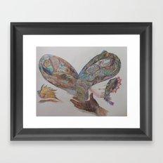 Give Flight Framed Art Print