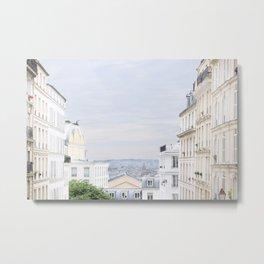 Urban landscape from Paris Metal Print