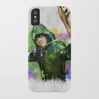 arrow iPhone & iPod Cases featuring arrow by evenstarss