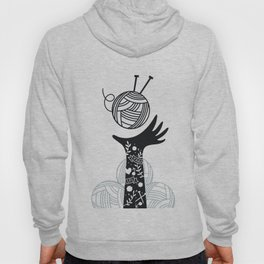 Yarn Love - Black Hoody