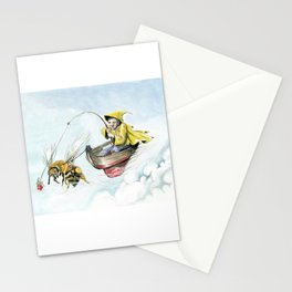 Bee Boating Stationery Cards