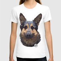 german T-shirts featuring German Shepherd by ArtLovePassion