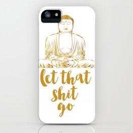 Inspirational Print Do Epic Shit Good Vibes Only Positive Inspiration Positive Vibes Printable Art iPhone Case