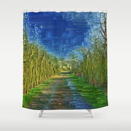 Natures Infusion. Shower Curtain