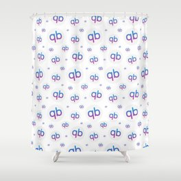 qiibee Pattern Light Shower Curtain