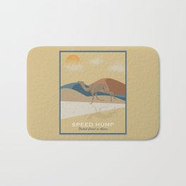 Speed Hump - Fastest Camel in Africa Bath Mat
