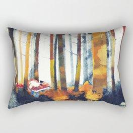 Autumn Hunt Rectangular Pillow