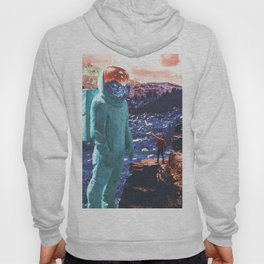 Giant and Man Surreal World Hoody