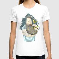 wesley bird T-shirts featuring Bird by Seaside Spirit