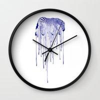 rain Wall Clocks featuring RAIN by Aneesh vini