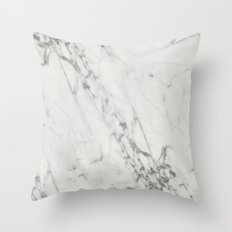 Real Marble II Throw Pillow