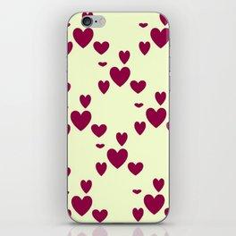 Diamond Hearts iPhone Skin