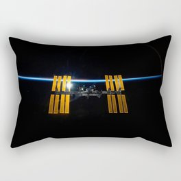 ISS Curve Rectangular Pillow
