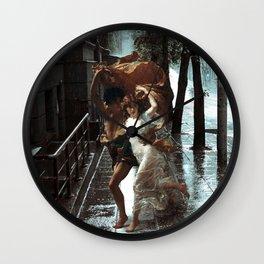 Rain Lovers Wall Clock