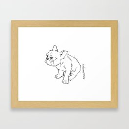 Guilty Framed Art Print