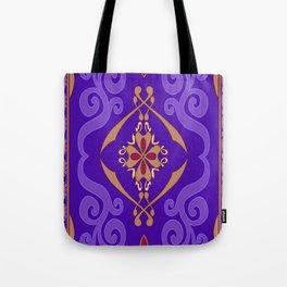 Aladdin Purple Magic Carpet Tote Bag
