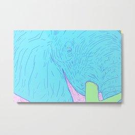 Elefante Blanco V2 Metal Print