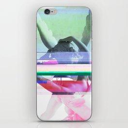 Love's a glitch (Cupid's corrupt kiss) iPhone Skin
