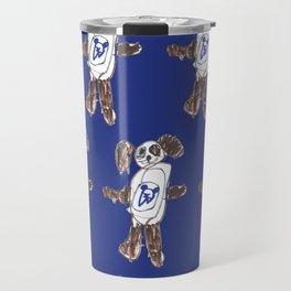 Super Doggy Pattern Travel Mug