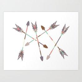 Arrow Stack Art Print
