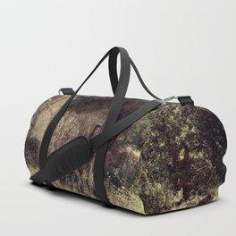 Vintage forgotten town Duffle Bag