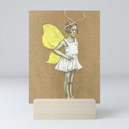 Butter Flye Mini Art Print