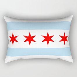 Chicago Flag Rectangular Pillow