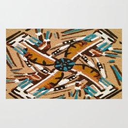 Indian Windmill design Rug