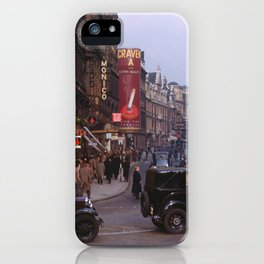 Piccadilly London Kodachrome iPhone Case