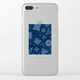 Diatoms - microscopic sea life Clear iPhone Case