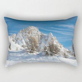 Alpine Mountain, Les Arcs Resort Rectangular Pillow