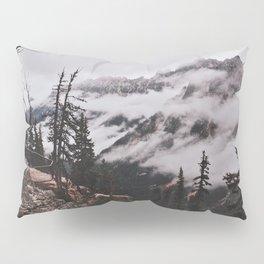 Fog in the Cascades Pillow Sham