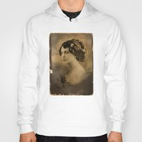 angelina jolie Hoodies featuring Angelina Jolie Vintage ReplaceFace by Maioriz Home