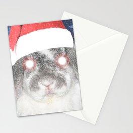 Snow Bunny Stationery Cards