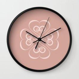 First Heart Wall Clock