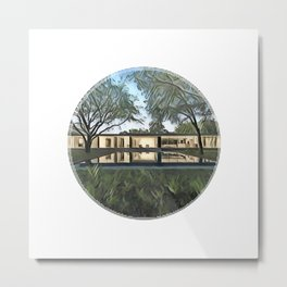 North Dallas Metal Print