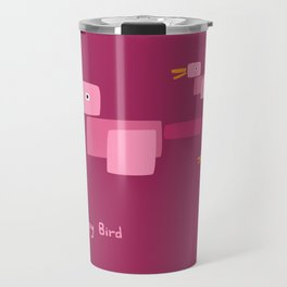 Happy Bird-Pink Travel Mug